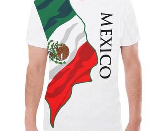 Mexico Men's Custom Flag Tee 2.0