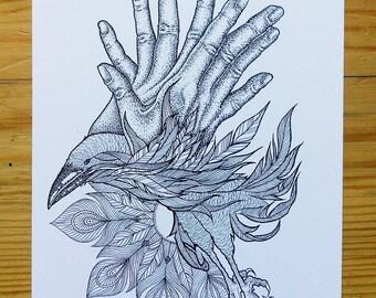 Card / / Crow