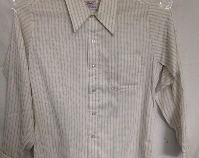 1970s Mens collard shirt