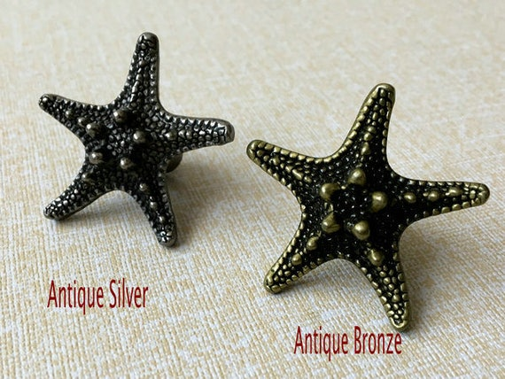 Starfish Knob Drawer Knobs Pulls Cabinet Door Pull Handles