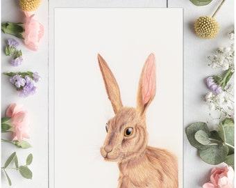 Hare - Print