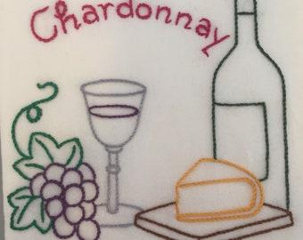 Wine country  chardonnay