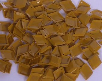 100 Sequins Diamond Shape..............BROWN color/KBPS536