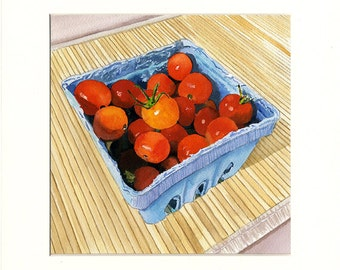 Tiny Sweet Tomatoes (Painting)