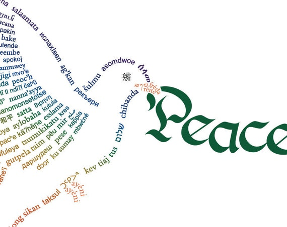 Peace Dove Card Template PDFs - DIY Printable Customizable from ...