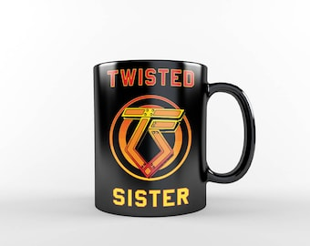 Twisted Sister Coffee Mug