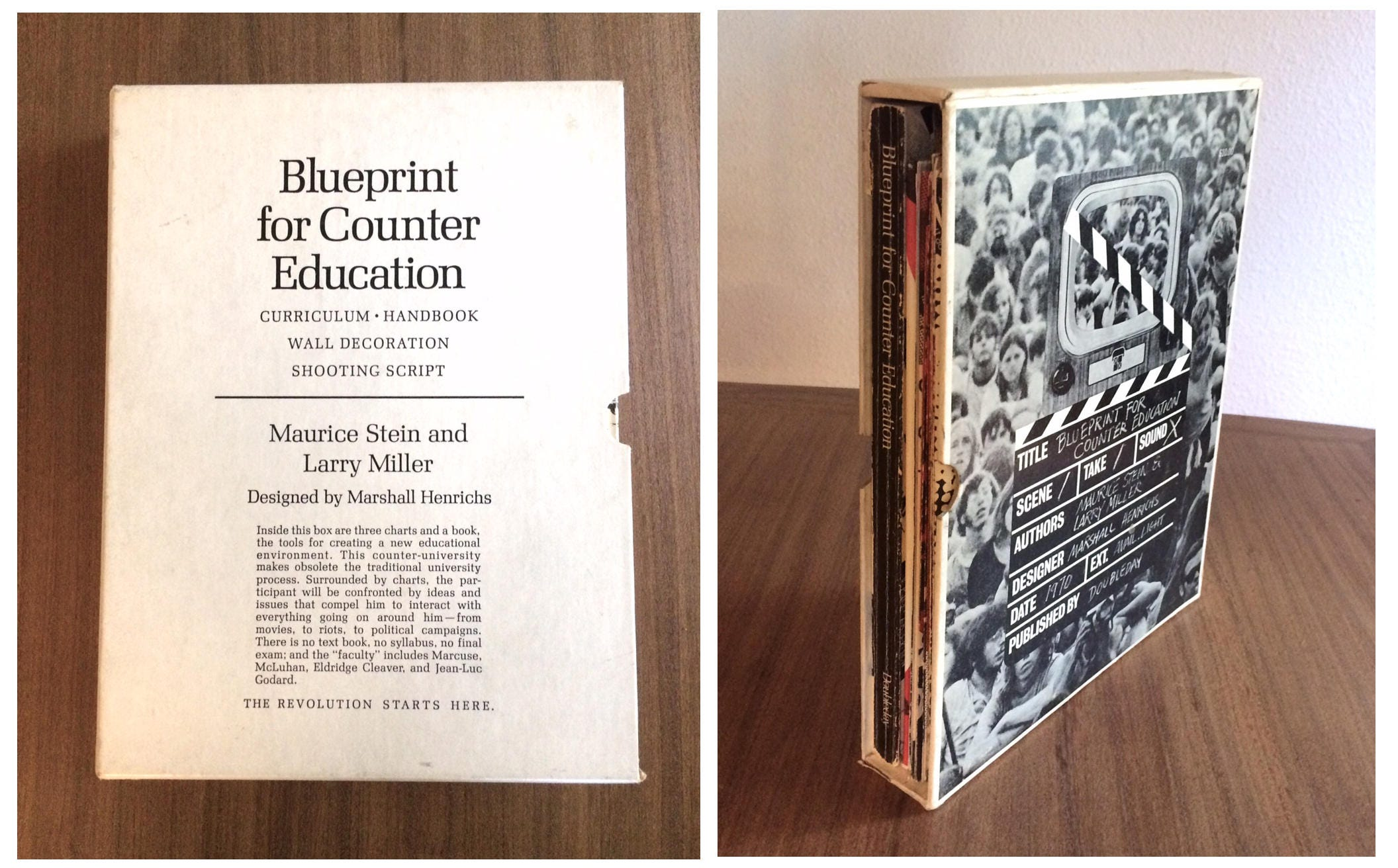 Blueprint for counter education rare first edition 1970 zoom malvernweather Images
