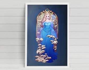 A Kingdom of Isolation - Elsa - signed 11x17 poster print