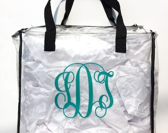 CLEAR STADIUM APPROVED Tote Bag / Purse