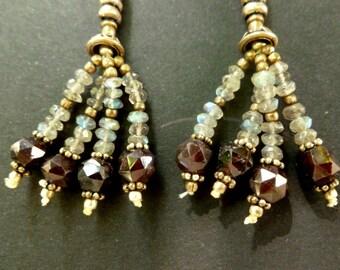 Turmaline Earrings from India.