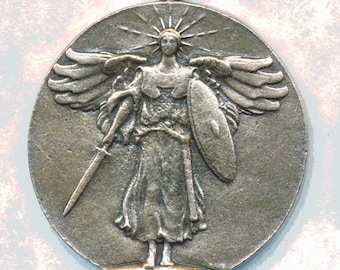Beautiful FRENCH MEDAL Cast from Original