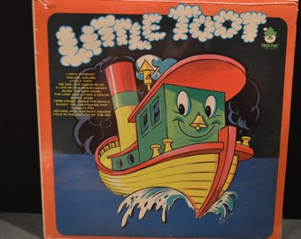 1970's Sealed Peter Pan Record # 8074 Little Toot Album