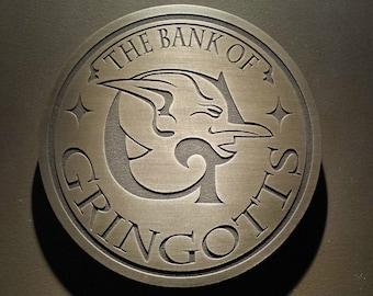Harry Potter Bank of Gringotts sign
