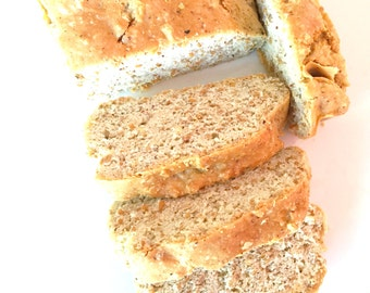 Organic Gluten Free Bread Loaf Low Carb Dairy Free  Wheat Free
