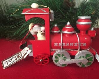 Vintage Hershey Christmas Ornament