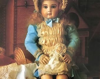 Darling Antique Doll Portrait Print