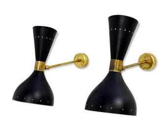 Pair of Italian sconces 50s style