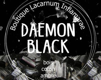 Scented candle - Daemon Black