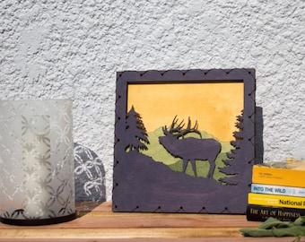 Nature Lover Gift - Elk Decor - Forest Wall Art - Wall Decor - Mountain Art - Nature Art - Rustic Decor - Elk Art