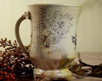 Coffee Mug - Wood and Soda Fired