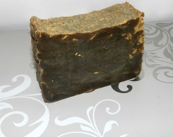 Pine Tar Soap. Lard and Lye Old Fashioned Pine Tar Tallow Soap,  Scent Masking.