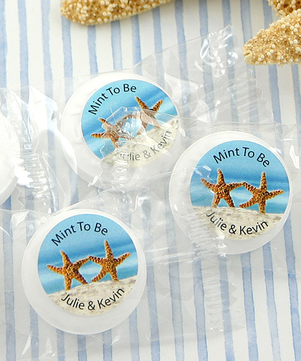 Wedding Favors Mints Dancing Starfish Life Savers® Mints