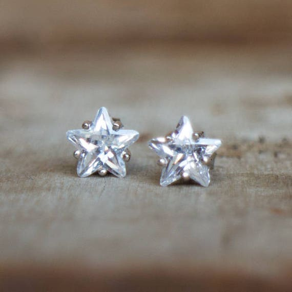 diamond cz of stud earrings product jsjtrends image