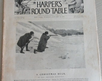 Harper's  Round Table Magazine 1897 article by Honorable Theodore Roosevelt