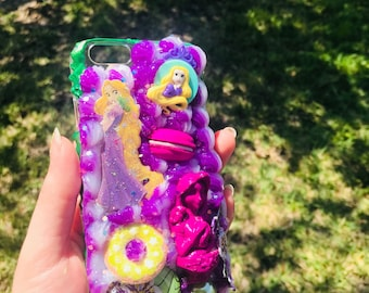 Tangled Rapunzel Decoden Phone Case iPhone 6/6S