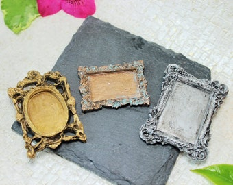 Miniature Frames, Place markers, Name plates, Placard, Drawer labels, Apothecary label, Wedding name card holders, Frame magnet, Picture