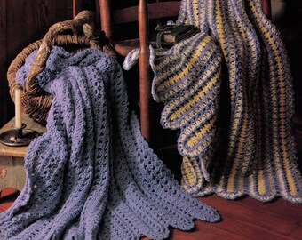 PDF Crochet Afghan Pattern Lap Afghan Pattern Throw