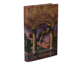 Harry Potter and the Sorcerer's Stone JK ROWLING First Edition 1st Printing 1998