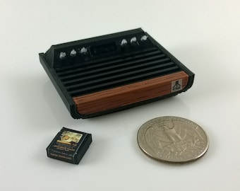 Mini Atari 2600 'Heavy Sixer' - 3d printed!