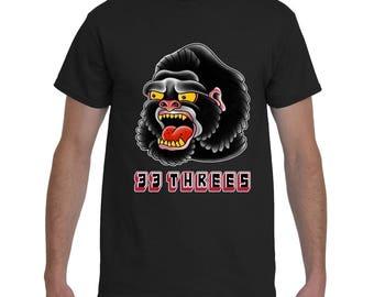 Gorilla Head Logo T-shirt