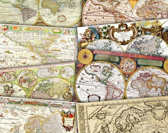 Vintage Maps Antique Maps Map Of Europe America Map Map Of - Buy ancient maps