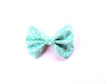 Boys Bow Tie / Hair Bow / Turquoise Bow Tie / Clip on Bow Tie / Turquoise Hair Bow / Baby Shower Gift / First Birthday / Family Photo Shoot