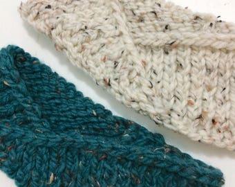 KNITTING PATTERN: The Twisted Knit Headband