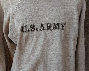 Vintage US Army sweatshirt USA XL