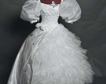 Enchanted Giselle Handmade Wedding Dress Costume