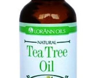 Tea Tree Essential Oil Pure 100% Natural 1 oz Therapeutic Aromatherapy