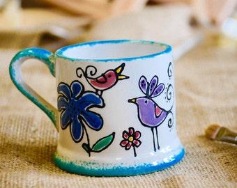 Personalised Children's Bird Mug