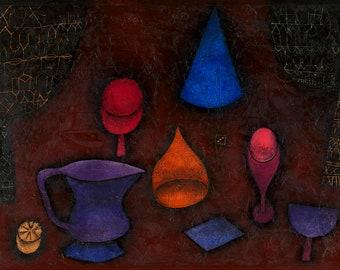 Paul Klee: Still Life. Fine Art Print/Poster (4993)
