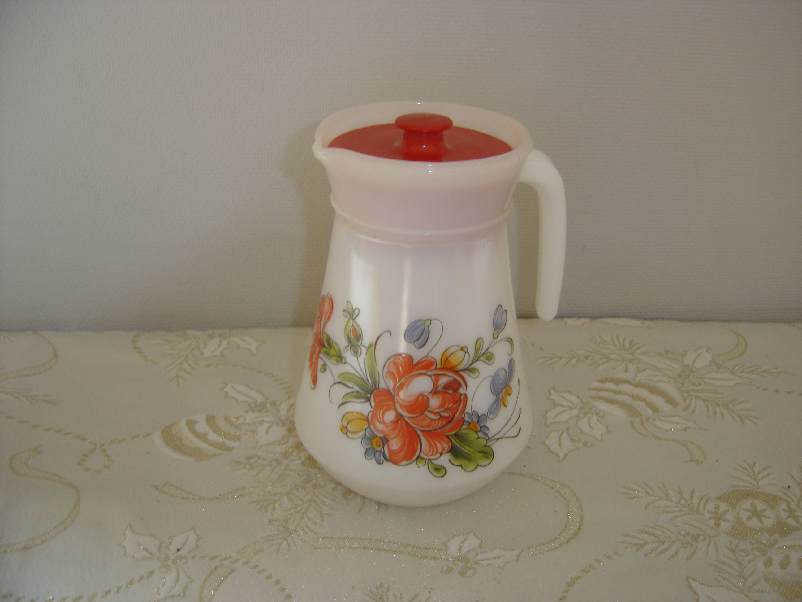 pichet jug cruche arcopal glas pitcher etat neuf avec. Black Bedroom Furniture Sets. Home Design Ideas