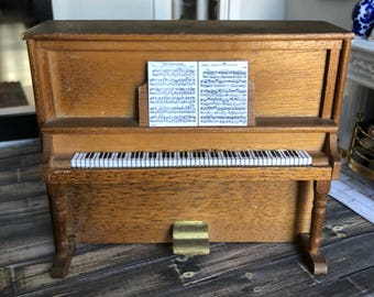 Vintage Dollhouse Piano