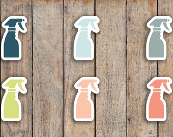 84 Spray Bottle, Cleaning, Chore Icon Planner Stickers for 2018 inkWELL Press Planners IWP-Q93