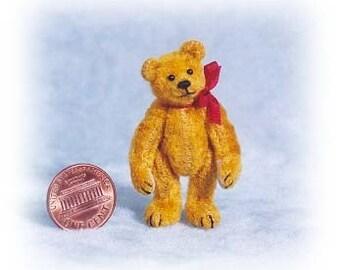 Ancien petit ours Miniature ours en peluche Kit - motif - par Emily agriculteur