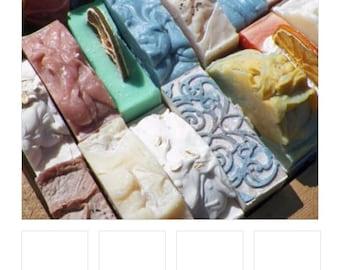 Handmade soaps, choose scents, 10 bars