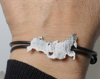 Russia Bracelet - Russia Band - Adoption Bracelet - Pulsera Rusia Irkutsk
