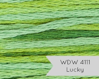 Weeks Dye Works Hand Over Dyed Embroidery Floss - Lucky 4111