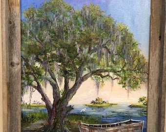 Mossy Oak and Old Boat